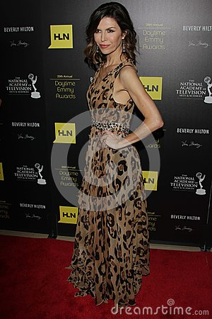 Finola Hughes at the 39th Annual Daytime Emmy Awards, Beverly Hilton, Beverly Hills, CA 06-23-12 Editorial Photography