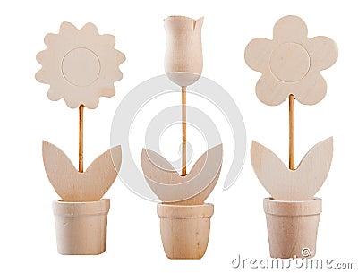 Fiori di legno fotografie stock immagine 28820463 for Mazzo per esterni in legno