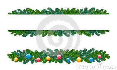 Fir decoration