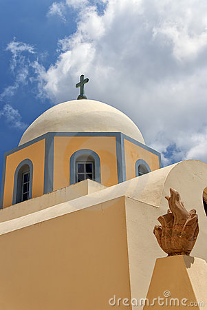 Fira catholic cathedral 01