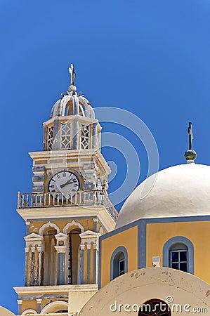 Fira catholic cathedral 02