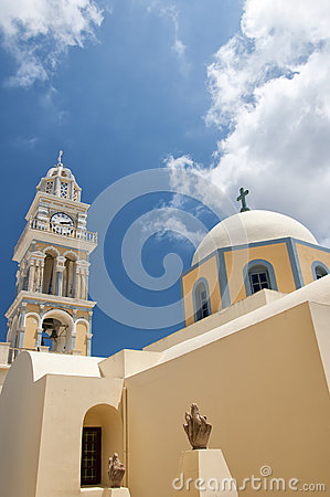 Fira catholic cathedral 03