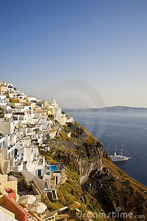 Fira Main Town, Santorini, Greece