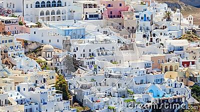 Santorini Town Ecard