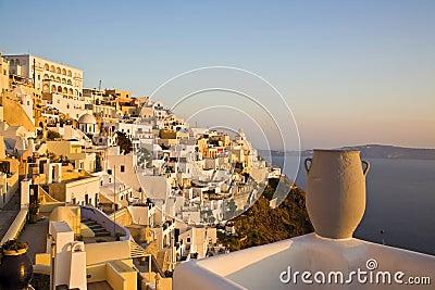 Fira Town, Santorini, Greece