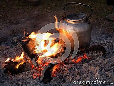 Fire 001 camp ngorongoro