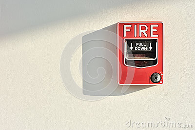 Fire alarm activation switch