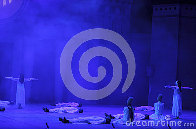 Fire of Anatolia. Performance in the amphitheater of Anatolia. Editorial Stock Image