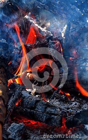 Free Fire And Firewood Stock Images - 103202714