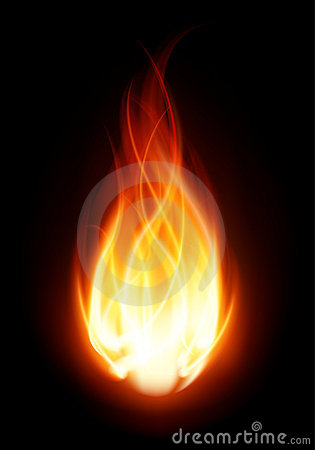 Free Fire Ball Flame Burn Stock Photo - 17550920
