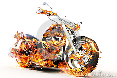 Fire Bike Stock Images Image 29166364