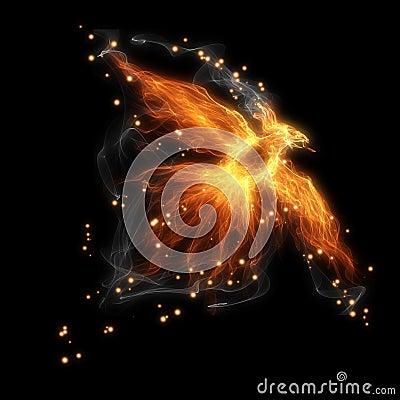 Free Fire Bird Stock Image - 37072021