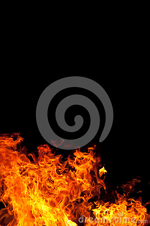 Fire On Black