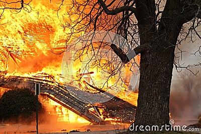 On Fire Blazing Inferno