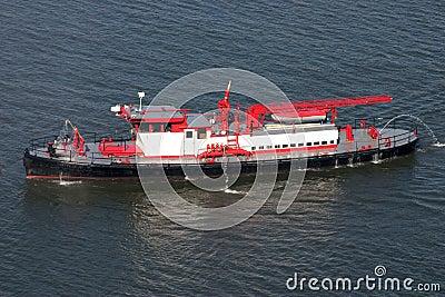 Fire boat..