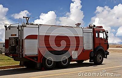 Fire Brigade car
