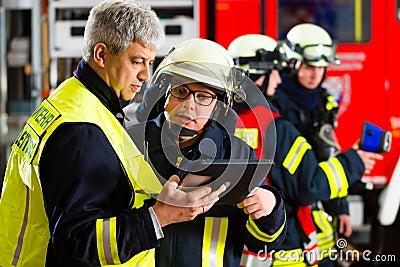 Fire brigade deployment planning on Computer