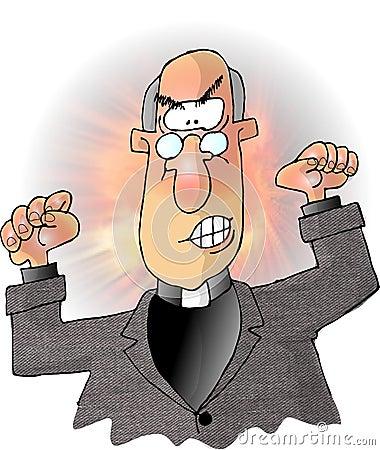 Fire & Brimstone Cartoon Illustration