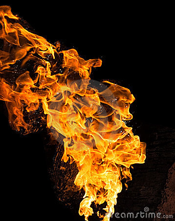 Fire Buring Stock Photos - Image: 8149943
