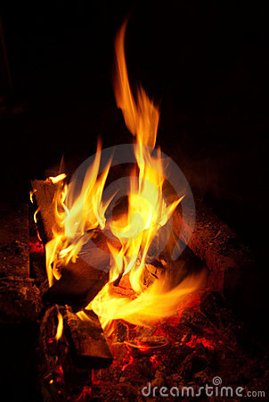 Free Fire Burning Stock Photography - 3260332