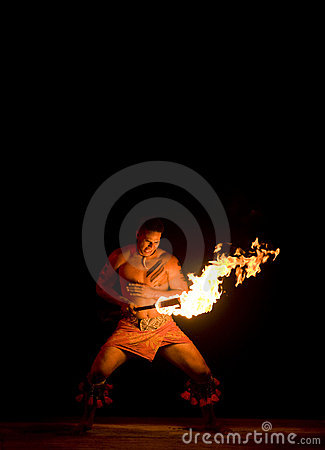 Fire Dance Editorial Image