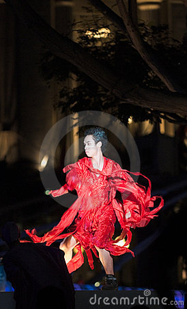 Free Fire Dance Stock Image - 9872691