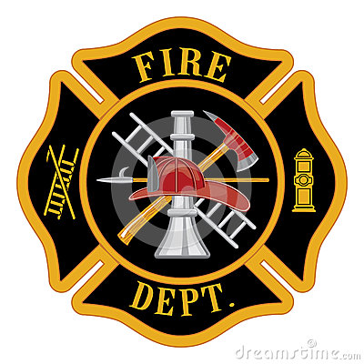 Free Fire Department Maltese Cross Royalty Free Stock Images - 36638779