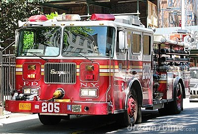 Fire Department New York vehicle Editorial Image