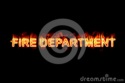 Fire department (Text serie)