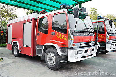 Fire department vehicle Editorial Stock Photo