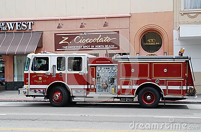 Fire Department  vehicle Editorial Photo
