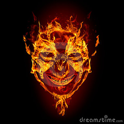 Free Fire Devil Face Stock Image - 16130501