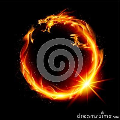 Free Fire Dragon Stock Photo - 23337190