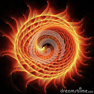 Fire dragon wheel