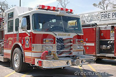 Fire Engines - Patriotic Grill