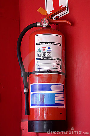 Free Fire Extinguisher Royalty Free Stock Photo - 10653185