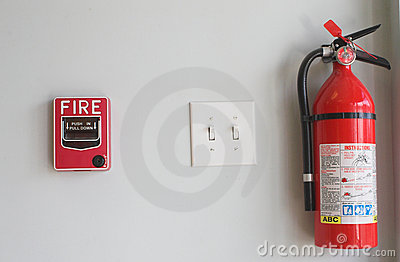 Fire Extinguisher and Pull Box