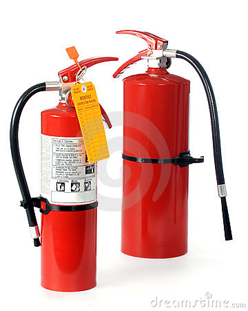 Free Fire Extinguishers Stock Images - 12962654