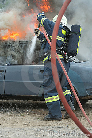 Fire extinguishing autos