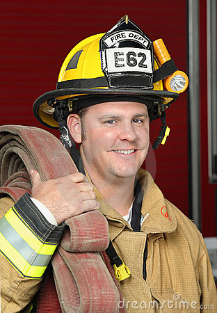 Free Fire Fighter Stock Images - 12495524