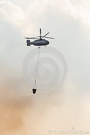 Fire fighter helicopter