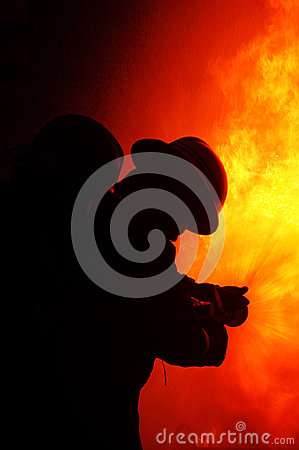 Free Fire Fighters Royalty Free Stock Photos - 94759778