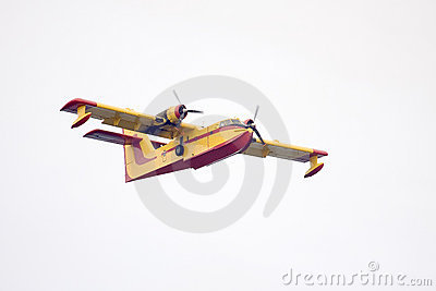 Fire Fighting Airplane