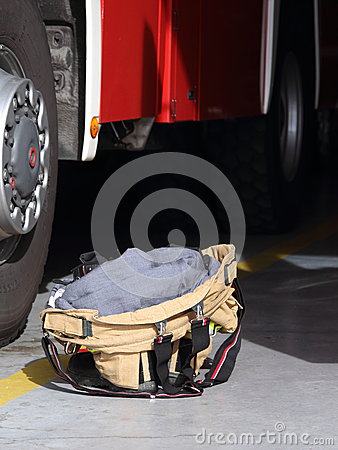 Fire-fighting equipment - ready