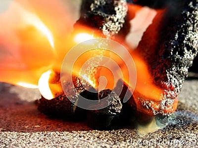 Fire Fireworks Black Snakes