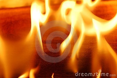 Fire flame III