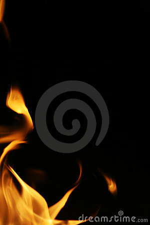 Free Fire Flames Border Royalty Free Stock Images - 6888869