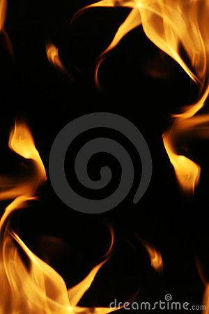 Free Fire Flames Frame Royalty Free Stock Photography - 6888877