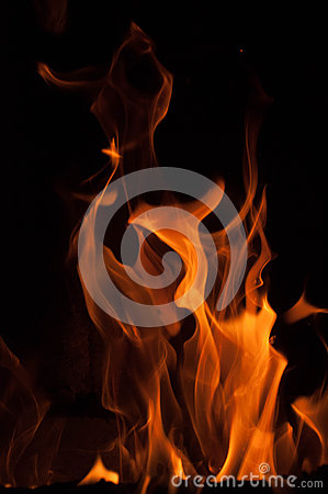 Free Fire Flames On A Black Background. Blaze Fire Flame Texture Background. Close Up Of Fire Flames Isolated On Black Background. Burn Royalty Free Stock Photos - 65753228