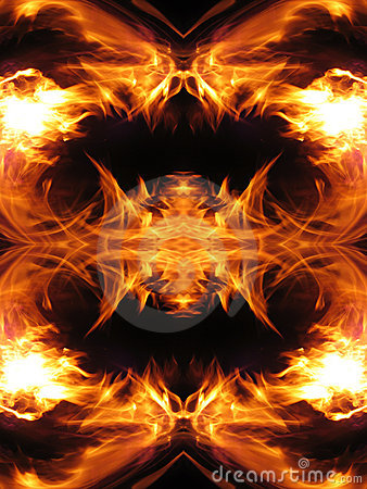 Free Fire Fractal Stock Image - 2926551